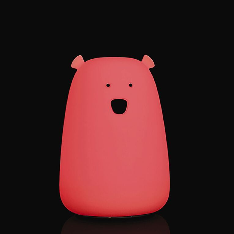 Living & Co Silicone Bear Night Light, , hi-res