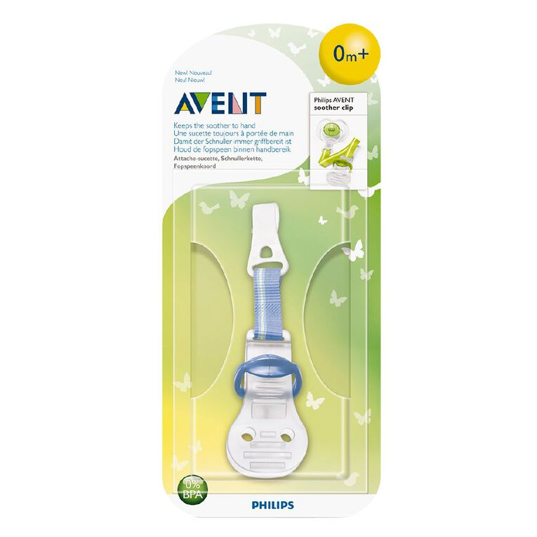 Philips AVENT Soother Clip 1pk, , hi-res