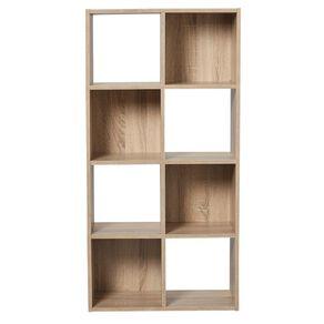 Living & Co Mason 8 Cube Oak Look
