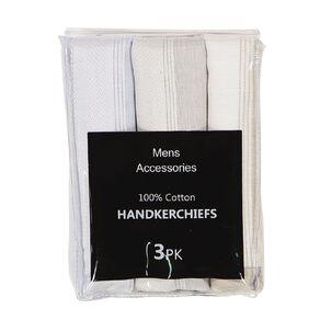 H&H Handkerchiefs 3 Pack
