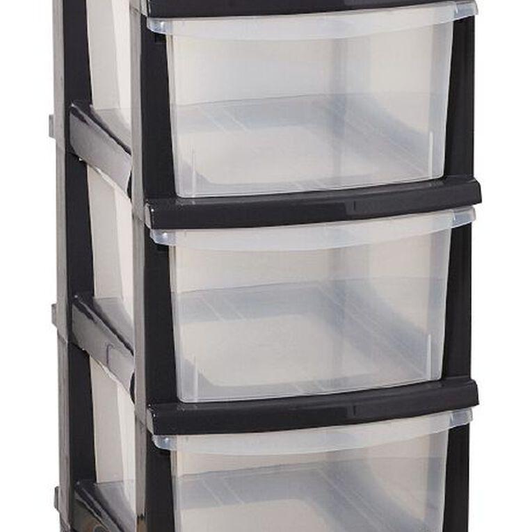 Taurus Storage Drawers Grey 5 Tier, , hi-res