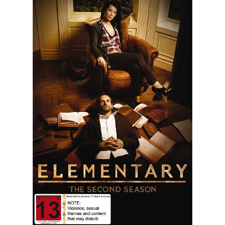 Elementary Season 2 DVD 6Disc, , hi-res