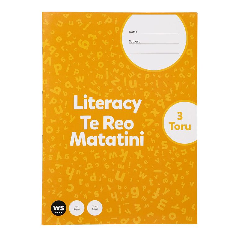 WS Senior Literacy 3 Toru, , hi-res