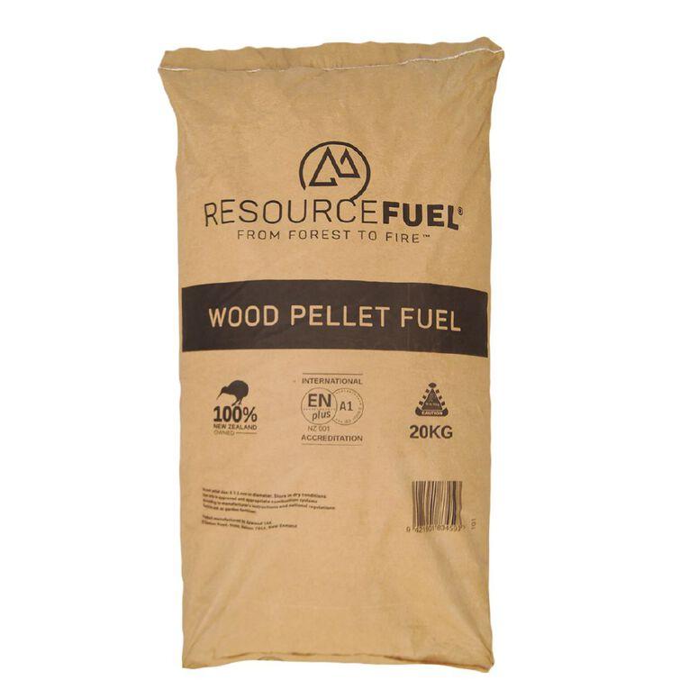 Azwood ResourceFuel Wood Pellet Fuel 20kg, , hi-res