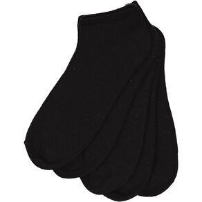 H&H Men's Low Cut Liner Socks 5 Pack