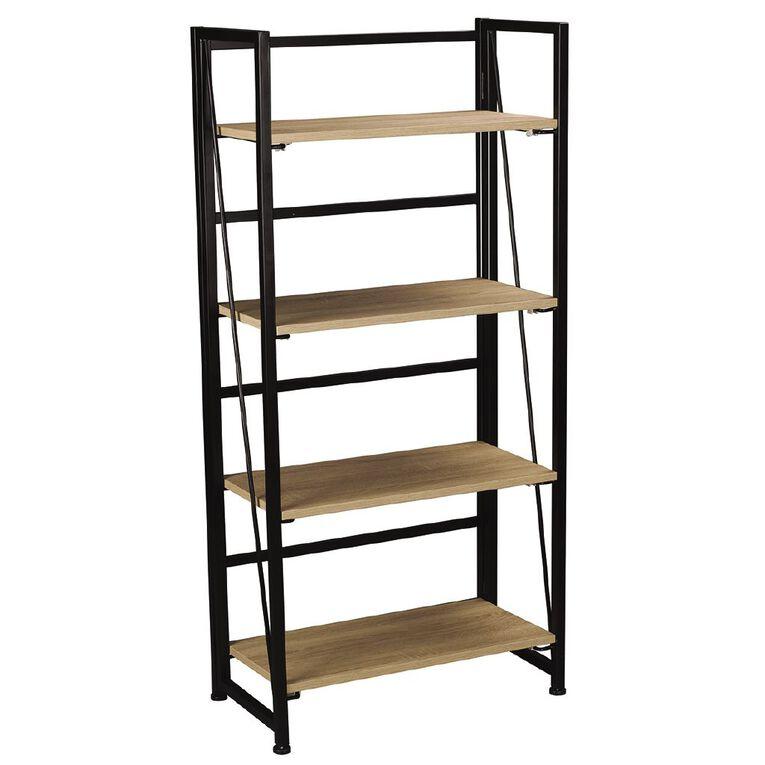Workspace Folding Bookcase Oak, , hi-res