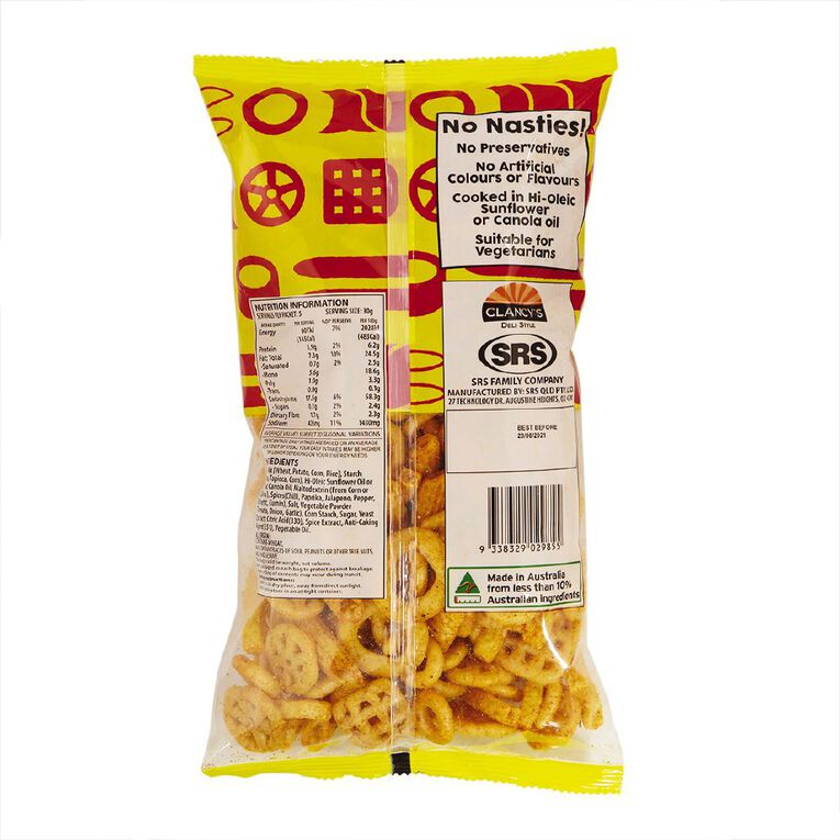 Clancys Party Mix Hot & Spicy 150g, , hi-res