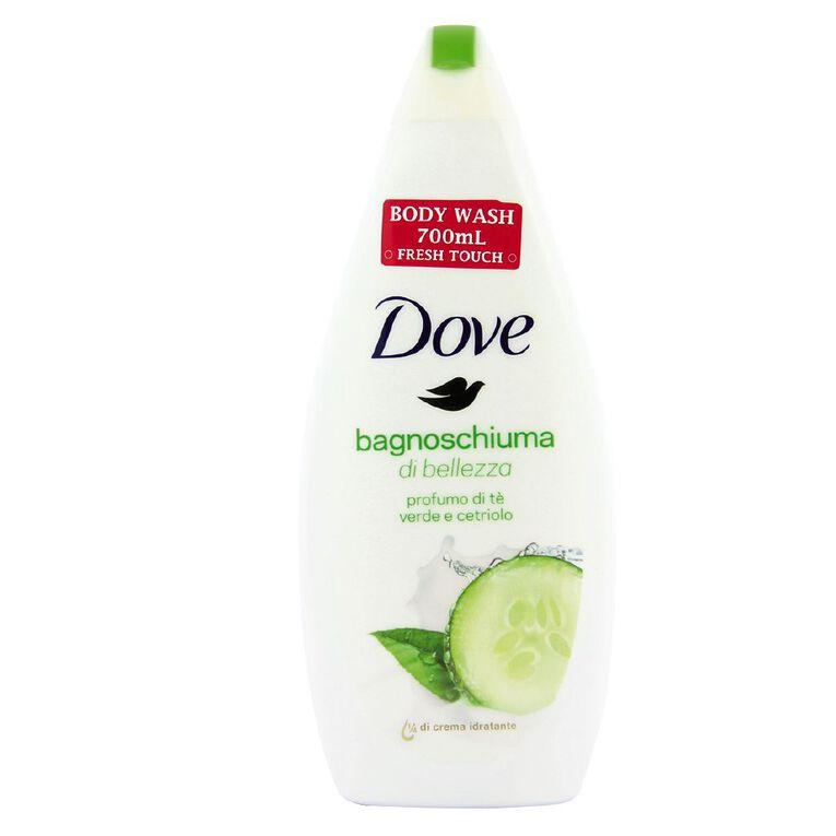 Dove Body Wash Fresh Touch 700ml, , hi-res