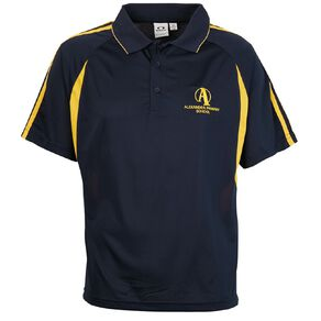 Schooltex Alexandra Primary Short Sleeve Polo with Embroidery