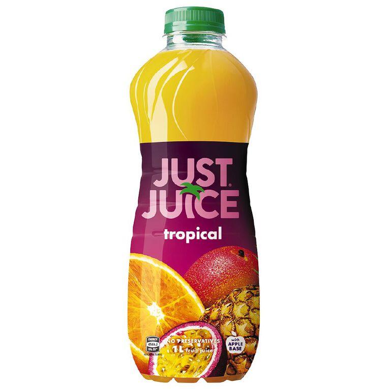 Just Juice Tropical 1L, , hi-res