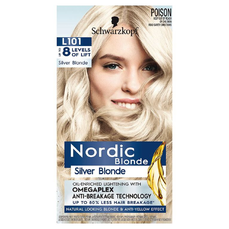 Schwarzkopf Nordic Blonde L101 Silver Blonde, , hi-res
