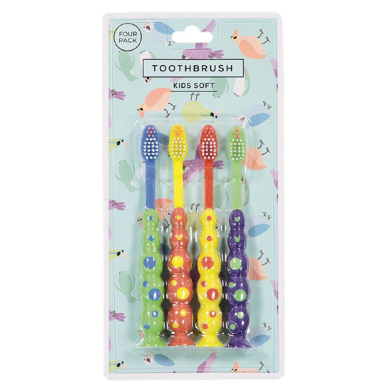 Kids' Tooth Brush 4 Pack, , hi-res image number null