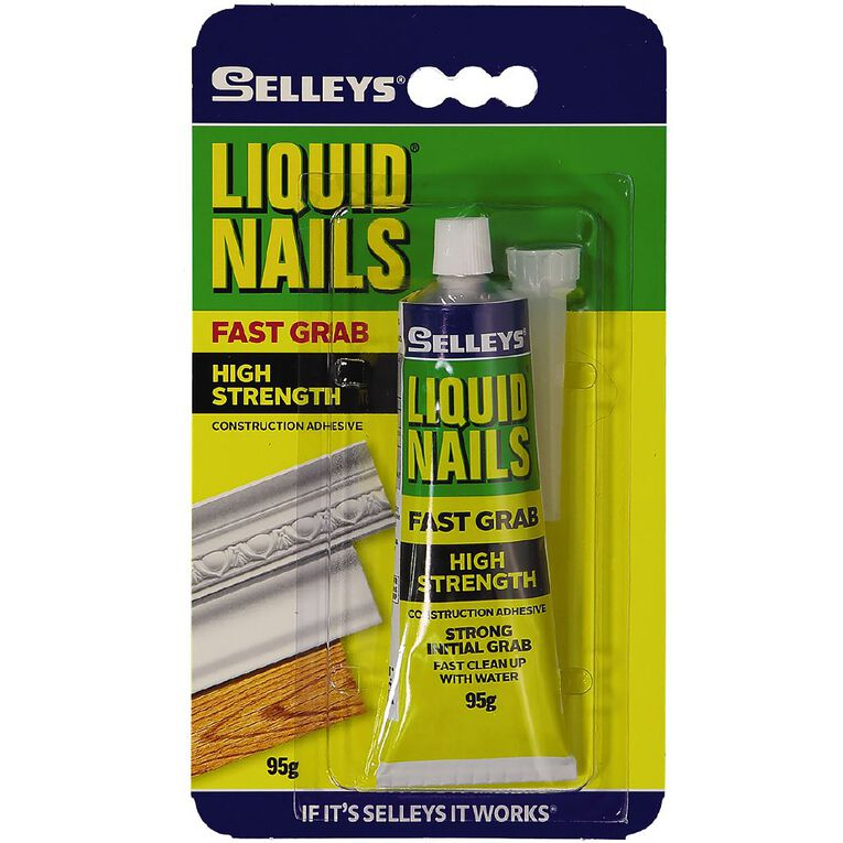 Selleys Liquid Nails Fast Grab 95g, , hi-res