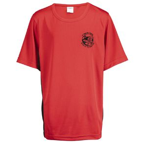 Schooltex Pt England Year 7 & 8 Only Sport Tee with Embroidery