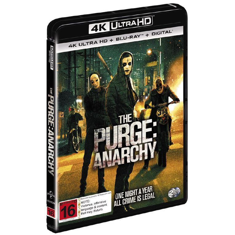 The Purge: Anarchy 4K Blu-ray 2Disc, , hi-res