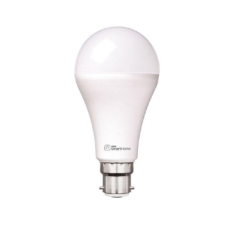 Laser Smart Home WiFi Lightbulb 10W LED Bayonet B22 White, , hi-res