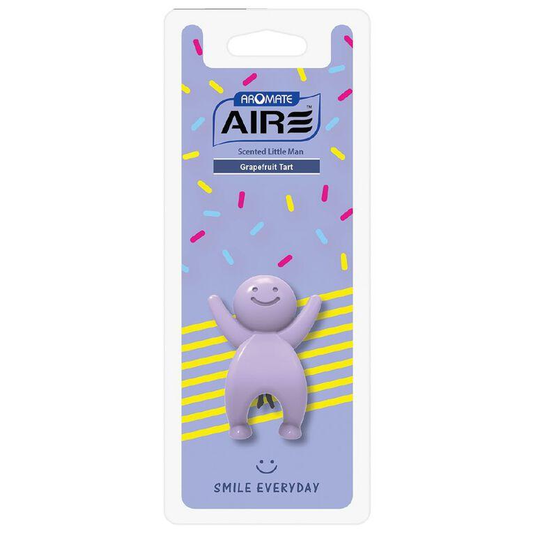 Aromate Air Grapefruit Tart Scented Little Man Auto Air Freshener, , hi-res