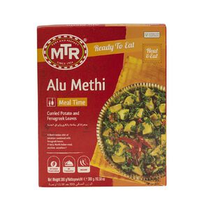 MTR Alu Methi Potato with Fenugreek Leaves Ready to Eat Meal 300g