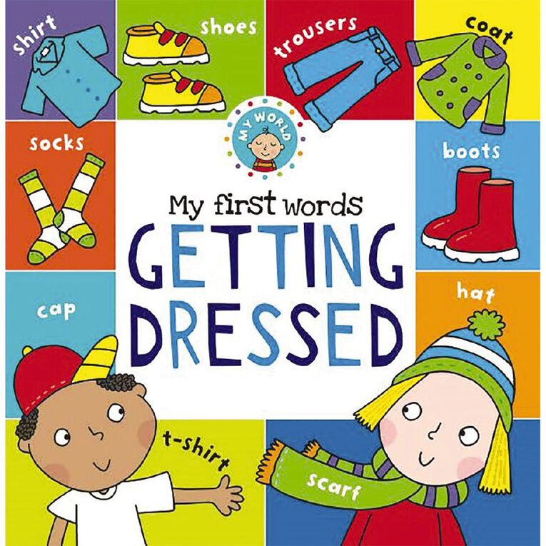 My First Words: Getting Dressed, , hi-res