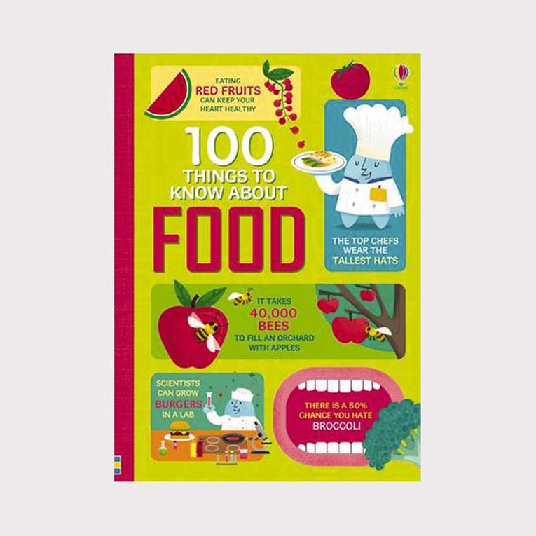100 Things to Know About Food, , hi-res