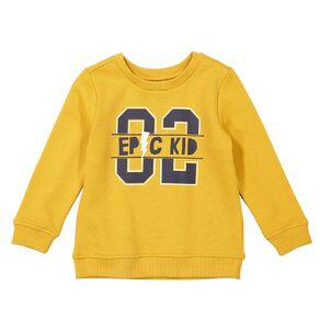 Young Original Toddler Crew Neck Printed Sweatshirt