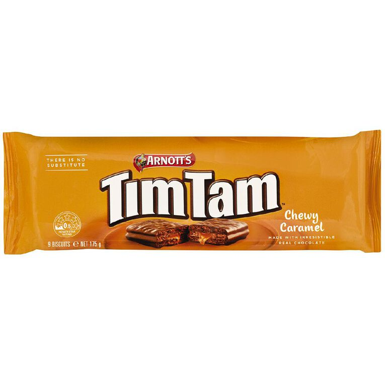 Arnott's Tim Tam Chewy Caramel 175g, , hi-res