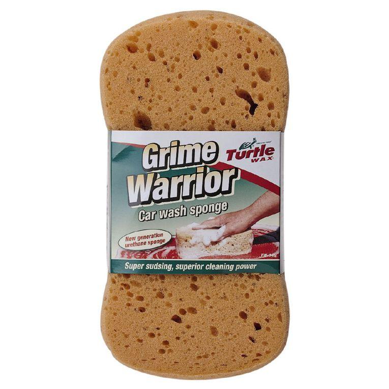 Turtle Wax Grime Warrior Car Wash Sponge, , hi-res image number null