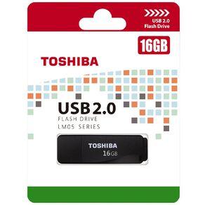 Toshiba LM05 16GB USB 2.0 Drive - Black