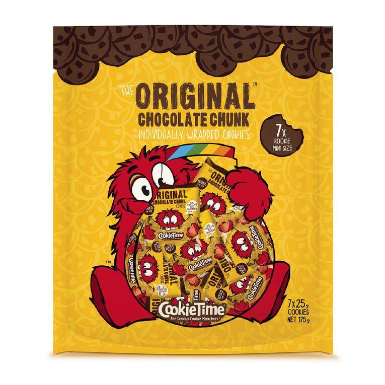 Cookie Time Rookie Cookies 7x 25g, , hi-res
