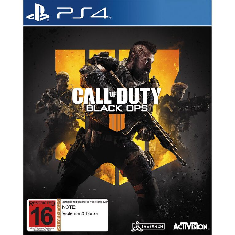 PS4 Call of Duty Black Ops 4, , hi-res
