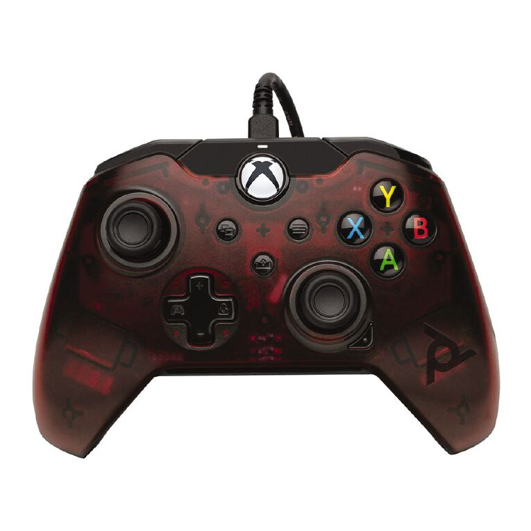PDP Xbox Series X Wired Controller Red, , hi-res
