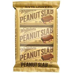 Whittaker's Peanut Slab 3 Pack
