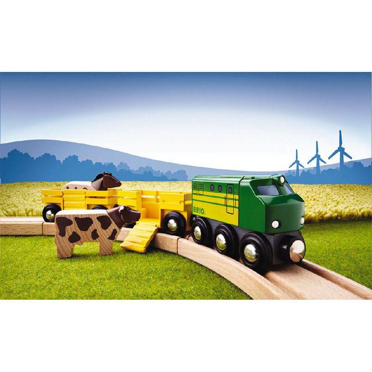 Brio Farm Train 5 Pieces, , hi-res