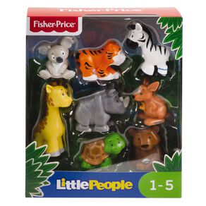 Fisher-Price Little People 8pk Animal Set Assorted