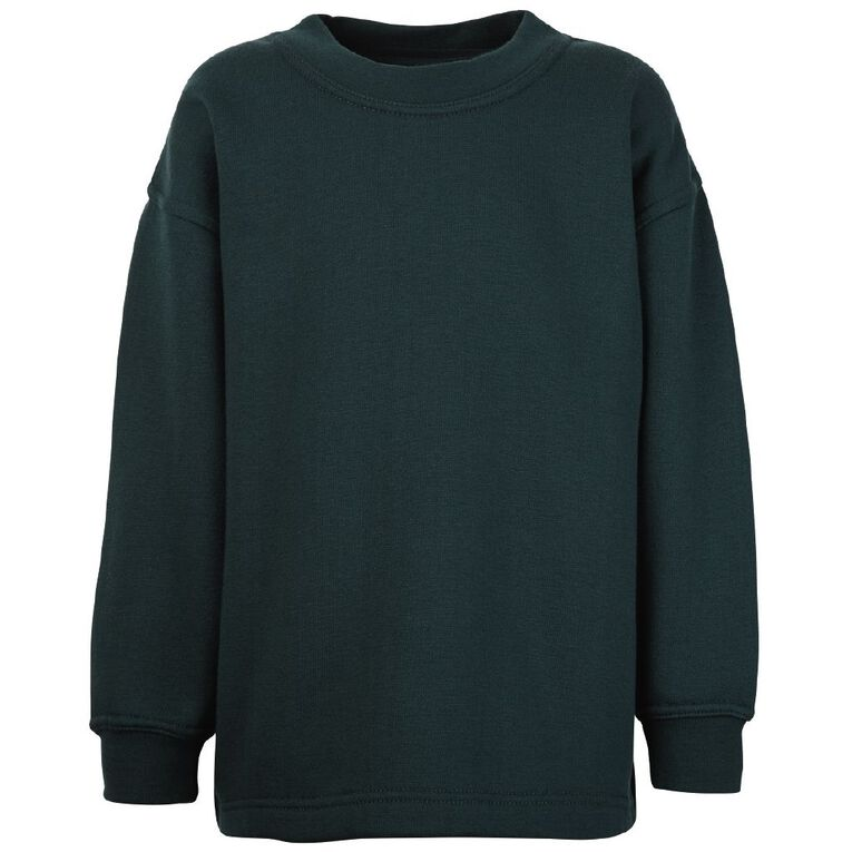 Schooltex Kids' Crew Neck Tunic, Bottle Green, hi-res
