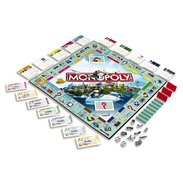 Monopoly Here & Now New Zealand Board Game, , hi-res