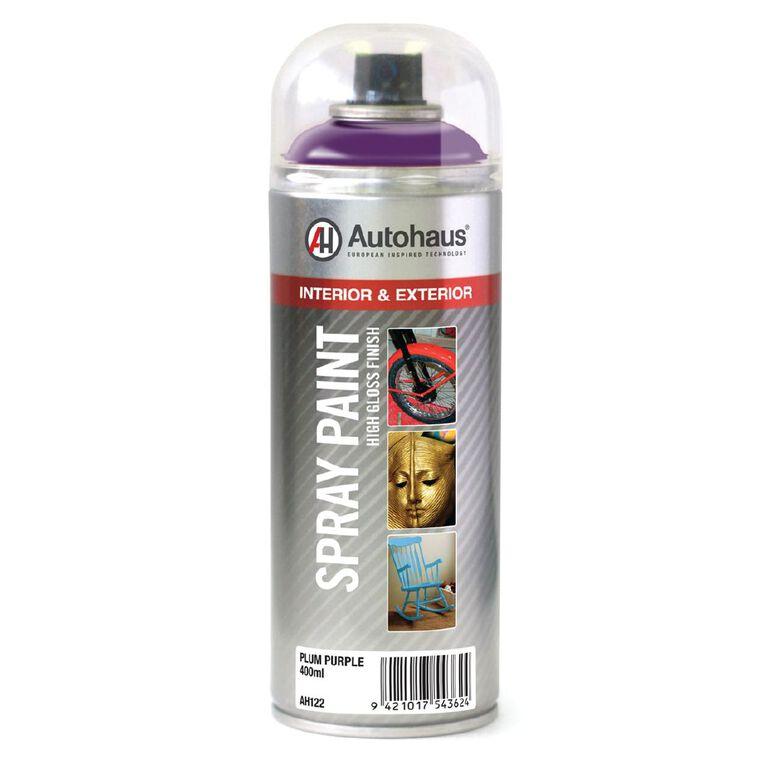 Autohaus Spray Paint Plum Purple 400ml, , hi-res