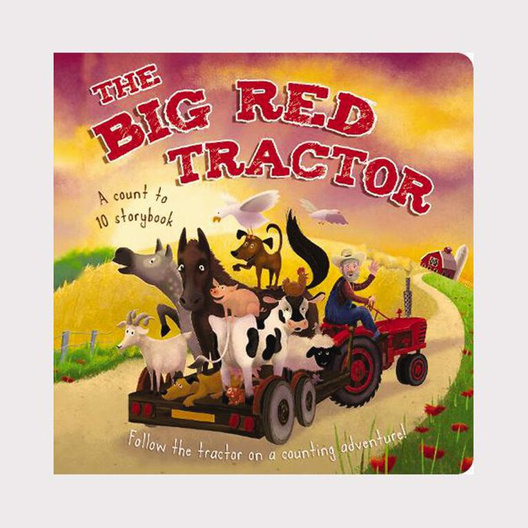 The Big Red Tractor, , hi-res