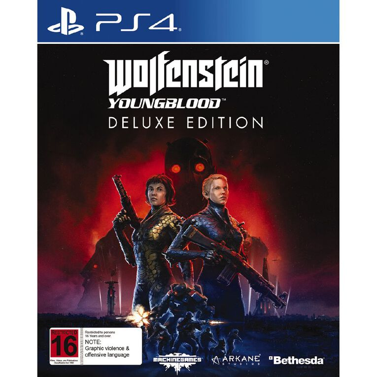 PS4 Wolfenstein Youngblood Deluxe, , hi-res