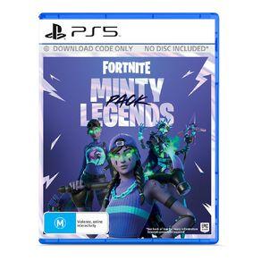 PS5 Fortnite Minty Legends Pack