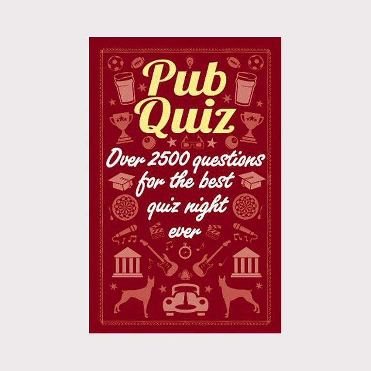 Pub Quiz, , hi-res