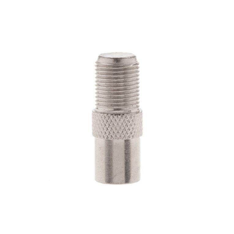 Tech.Inc Coaxial Plug to F Socket Adapter, , hi-res