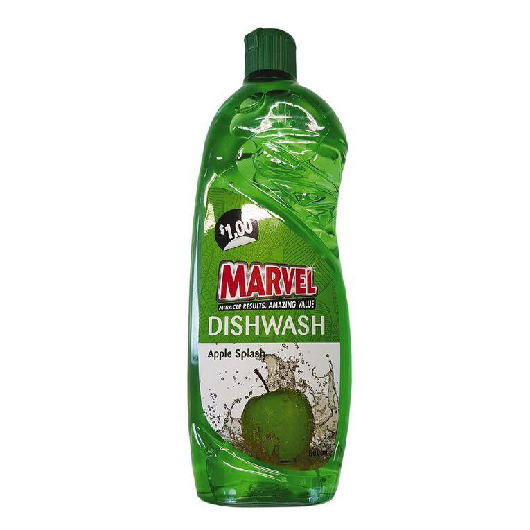 Marvel Dishwash Liquid Apple 500ml, , hi-res