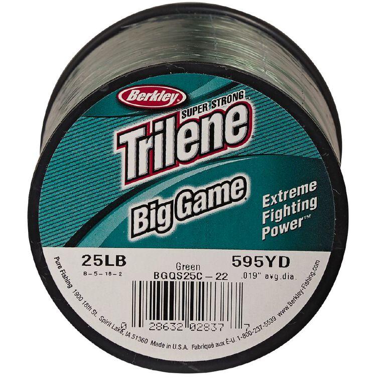 Berkley Trilene Big Game Line 25lb 595yds, , hi-res