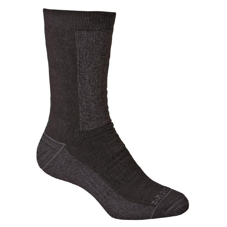 Darn Tough Men's Utility Crew Socks 2 Pack, Black, hi-res image number null