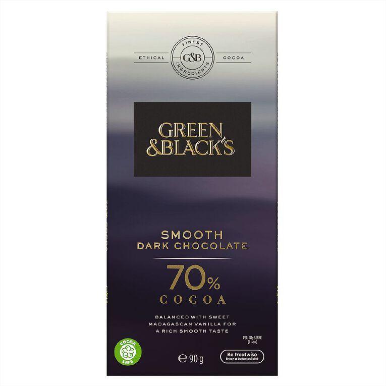 Green & Black's Green & Black's Velvet Edition 70% Dark Chocolate 90g, , hi-res