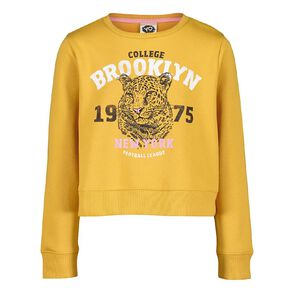 Young Original Pull Over Print Crew Sweatshirt