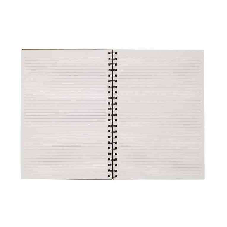 Uniti Craft Spiral Hardcover Notebook Natural A4, , hi-res