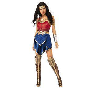 Wonder Woman Warner Bros 1984 Deluxe Costume Large