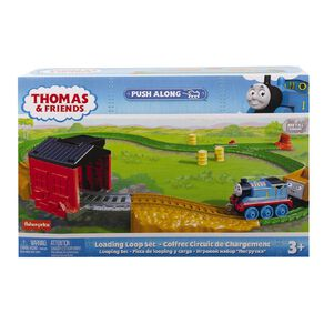 Thomas & Friends Fisher-Price Trackmaster Pushalong Load & Roll Trackset